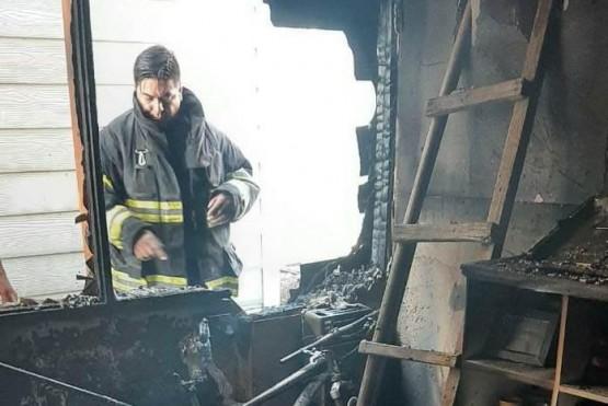 Las pérdidas fueron considerables tras el incendio.
