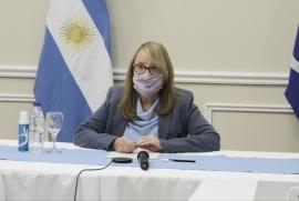 Alicia Kirchner en la asamblea de Gobernadores