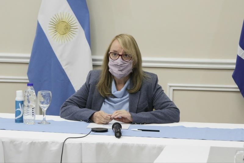 Gobernadora Alicia Kirchner.