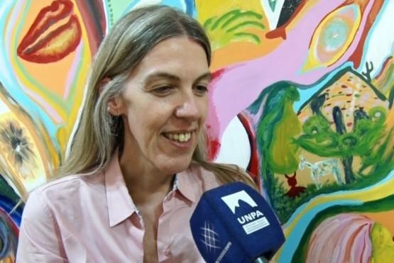 María Elena Bain, secretaria general académica de la UNPA.