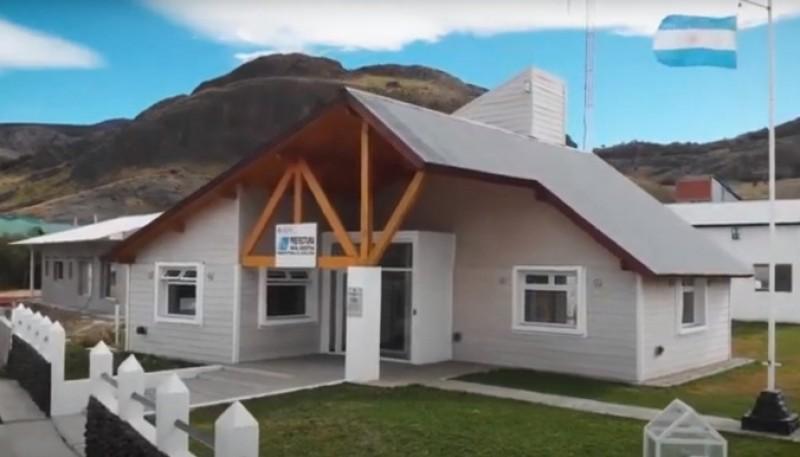 Edificio donde funcionará Prefectura en El Chaltén.