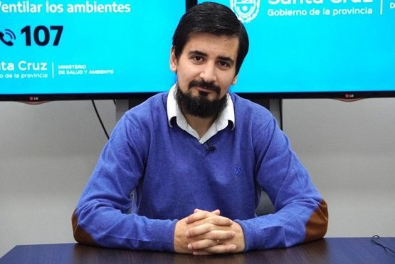 Rolando Davena, secretario de Estado de Transporte