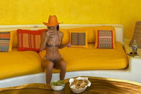 La modeloKendall Jenner, del famoso clan Kardashian.