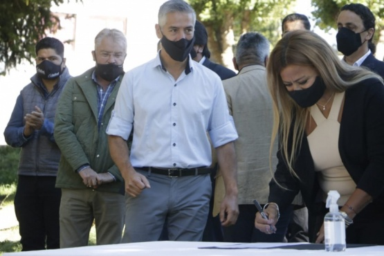 Río Pico celebró un nuevo aniversario con inauguración de obras