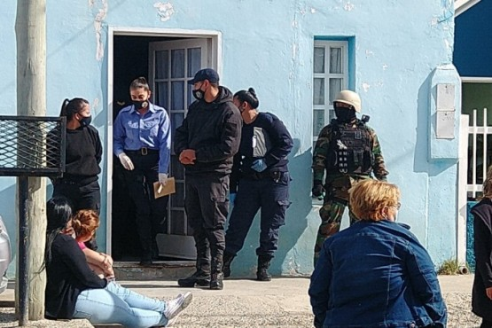 Efectivos de las Fuerzas Especiales estuvieron a cargo del ingreso táctico.