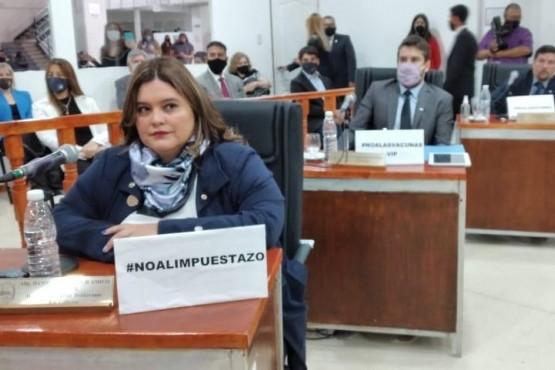 Concejal Leonardo Roquel.
