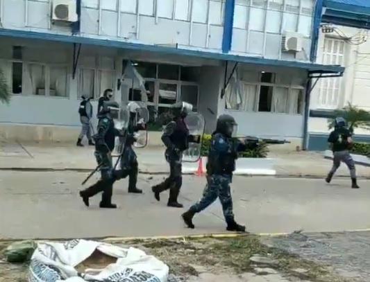 Incidentes en una protesta por la vuelta a la fase 1 en Formosa