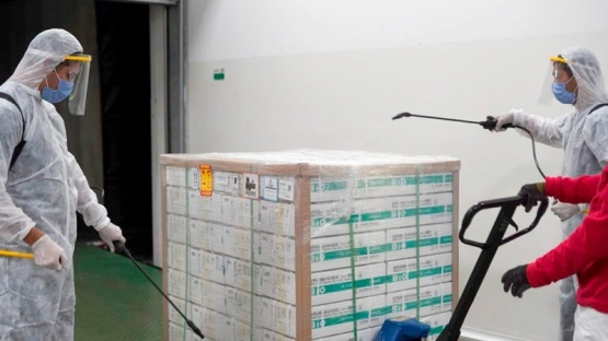 Comenzó la distribución de 406.800 vacunas de Sinopharm