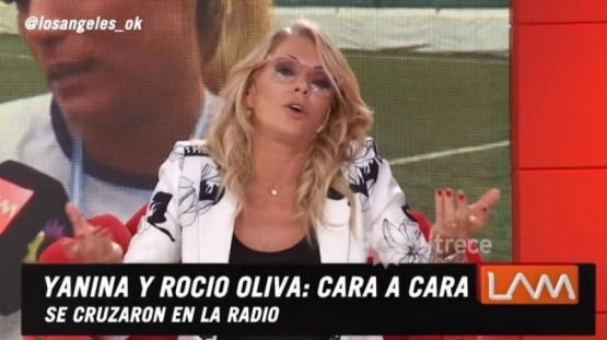 El picante cruce de Yanina Latorre y Rocío Oliva