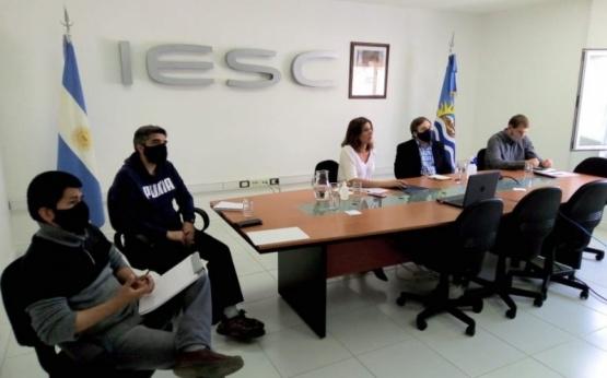 Reunión con el IESC.S