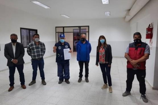 Córdoba entregó la llave del Centro de Refugio.