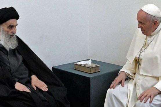 Histórico encuentro del Papa con la mayor autoridad del islam chiita en Irak
