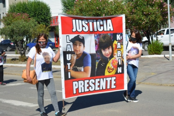 Marcha en pedido de justicia por Natasha, Lautaro y Karim