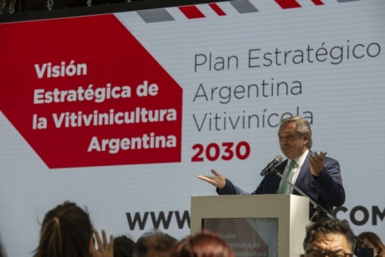 El Presidente reiteró su llamado a la unidad desde Mendoza