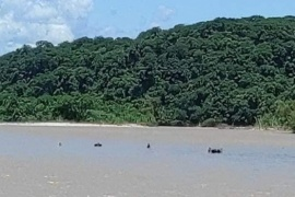 Nueva tragedia en el río Bermejo: murió un hombre y 2 desaparecieron al intentar cruzar ilegalmente