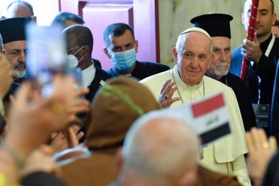 Papa Francisco I en Irak.