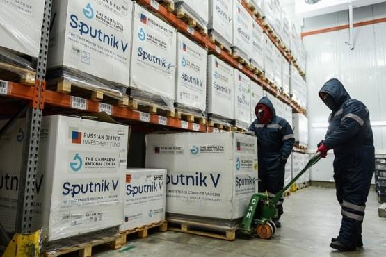 Sputnik V enviadas a las provincias.