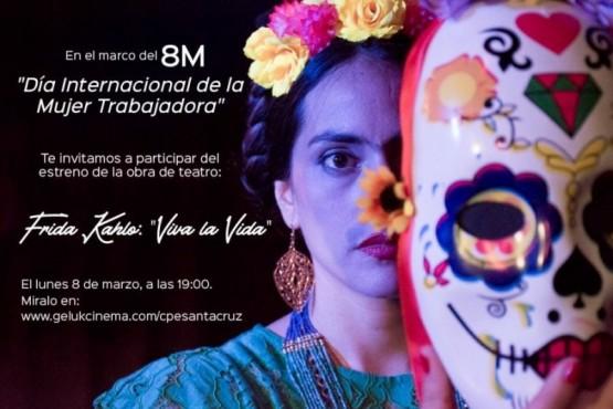 """obra de teatro Frida Kahlo: """"Viva la Vida"""""""