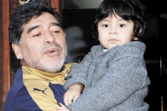 El desgarrador pedido de Dieguito Fernando tras la muerte de Maradona