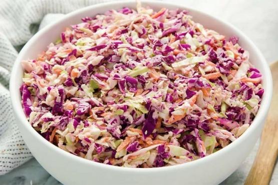 Cómo hacer ensalada coleshaw