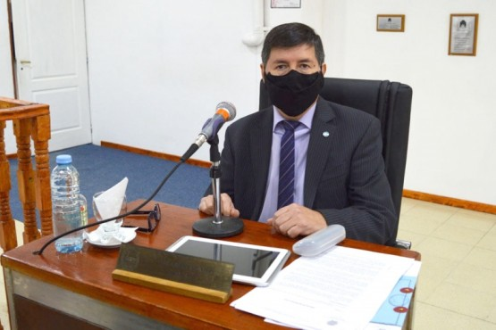 Pedro Muñoz representará al Deliberante en la paritaria municipal de Río Gallegos