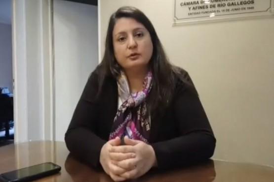 Carolina Neil, presidenta de CCIARG.