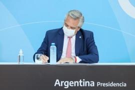 Alberto Fernández firmó régimen de excención de retenciones