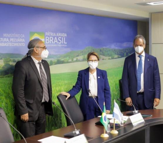Basterra y Scioli en Brasilia con agenda de promoción agrícola