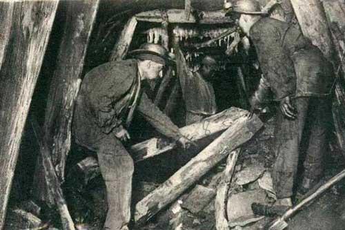 La catástrofe minera de Courrières.
