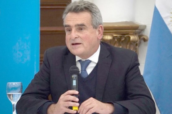 Ministro de Defensa, Agustín Rossi.