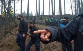 Incendio en el Hoyo: buscan conocer el listado de autoevacuados