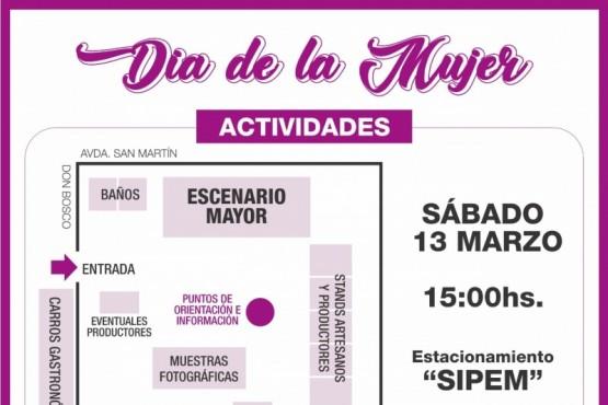 actividades por el Día de la Mujer.