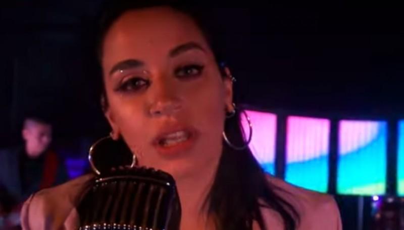 Zarina, cantante de Zariband.