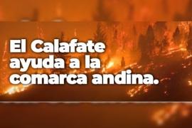 El Calafate en solidaridad con los habitantes de Chubut afectados por incendios