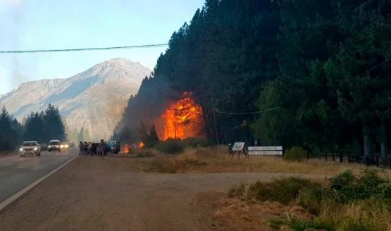 Investigadores encontraron dos puntos de origen de los incendios