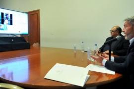 Directivos de JetSMART manifestaron su interés para que sus vuelos lleguen a Chubut