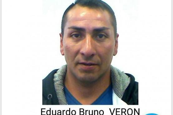 Él es Eduardo Bruno Verón, uno de los cuatro fugados.