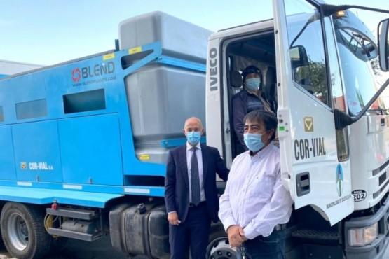El Municipio Caleta Olivia recuperó un camión para bacheo que fue abandonado durante ocho años