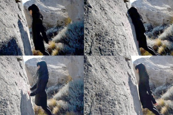 Aimant - Video perfomance. Ale Montiel (El Calafate)