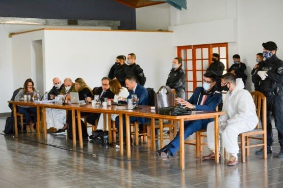 Ayer se llevó a cabo la cuarta audiencia del juicio. (Foto: C.R.)