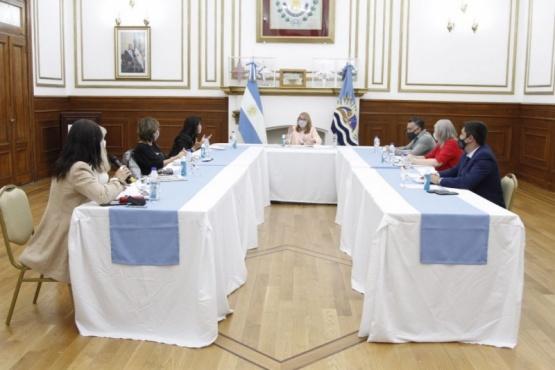 Reunión de Alicia con el Poder Judicial.