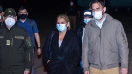 La expresidenta de facto Áñez está detenida en La Paz