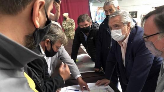 Anunciaron inversiones y ayuda económica para zona afectada