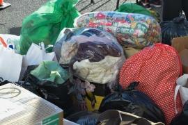 """""""Los vecinos y vecinas se acercaron a traer muchas donaciones"""""""