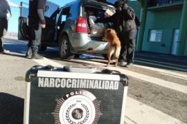 Controles vehiculares de Narcocriminalidad en Río Gallegos