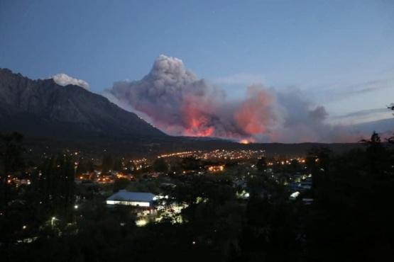 Incendios en Chubut.