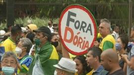 San Pablo decretó toque de queda y las calles se llenaron de manifestaciones en contra