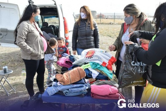 Municipio de Río Gallegos lleva las ferias americanas a los barrios