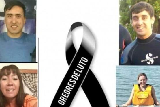 El cuerpo del bombero Javier Barría fue encontrado en Lago Cardiel