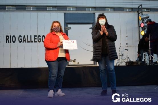Vásquez destacó el cierre de la Semana de la Mujer en Río Gallegos